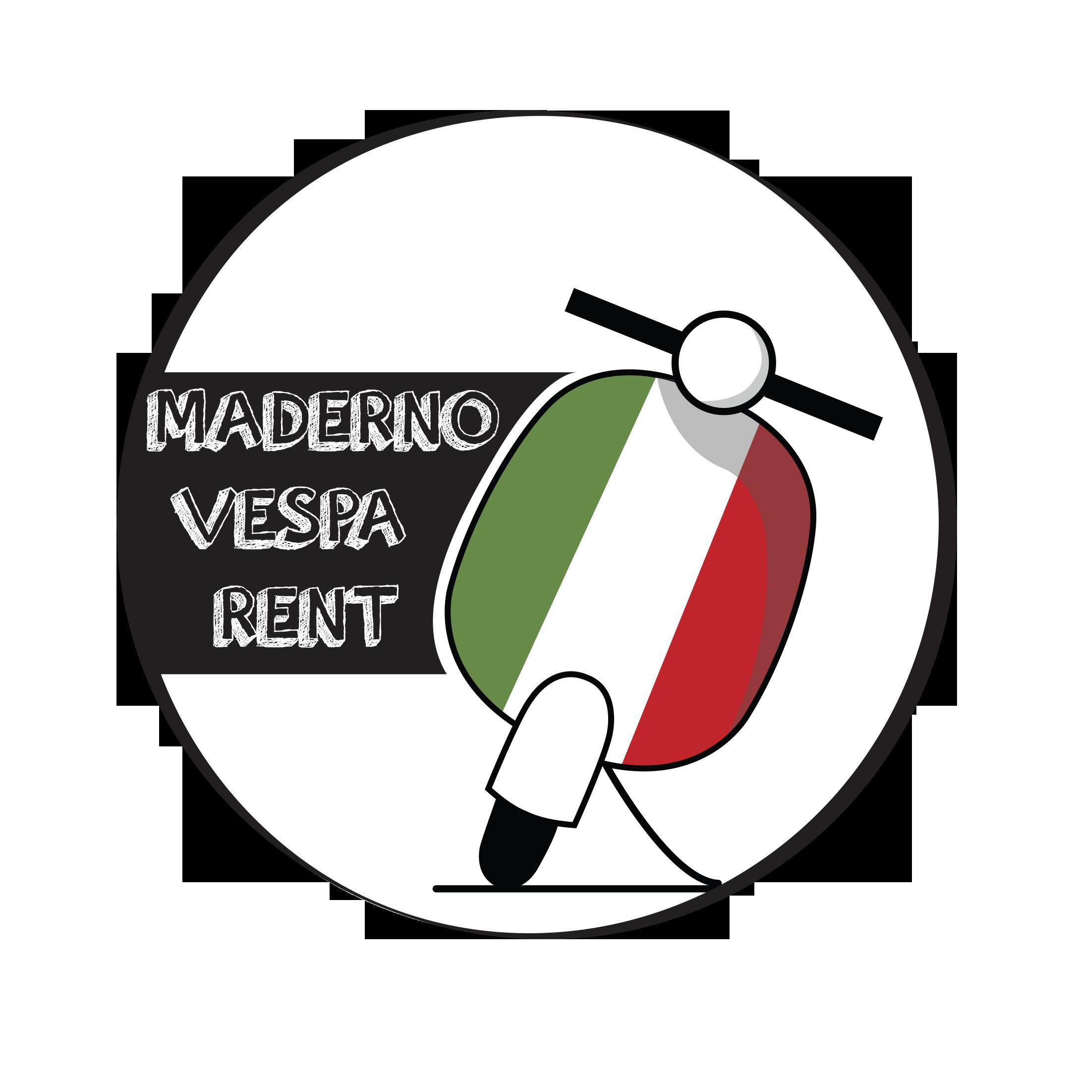 Maderno Vespa Rent Logo